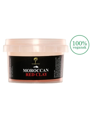 Moroccan Red Clay - Rødt ler 200 g