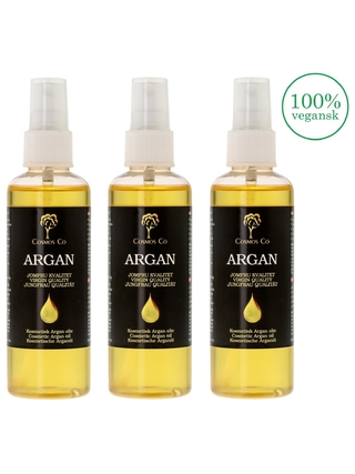 Argan olie 3 x 100 ml